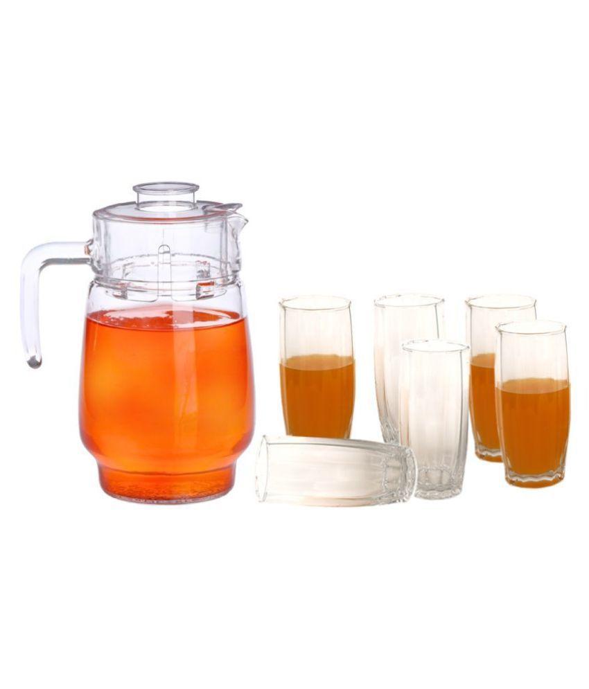 Somil Glass 1750 ml Jug  amp; Glass Sets