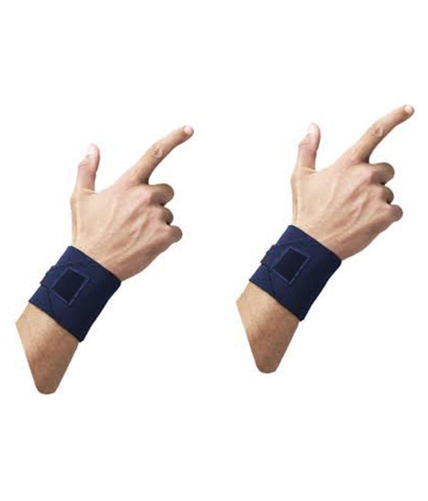 Emm Emm 2 Pcs Adjustable Wrist Support Wrist Support Free Size