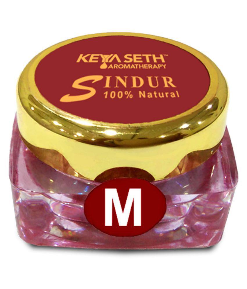 Keya Seth Aromatherapy Maroon Sindoor Powder Pack of 3 9 g