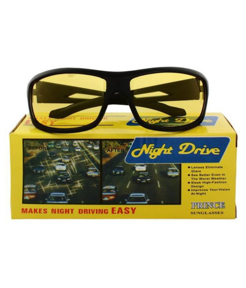 Day Vision & Night Vision Sports Unisex glasses  WITH YELLOW BOX PACKING