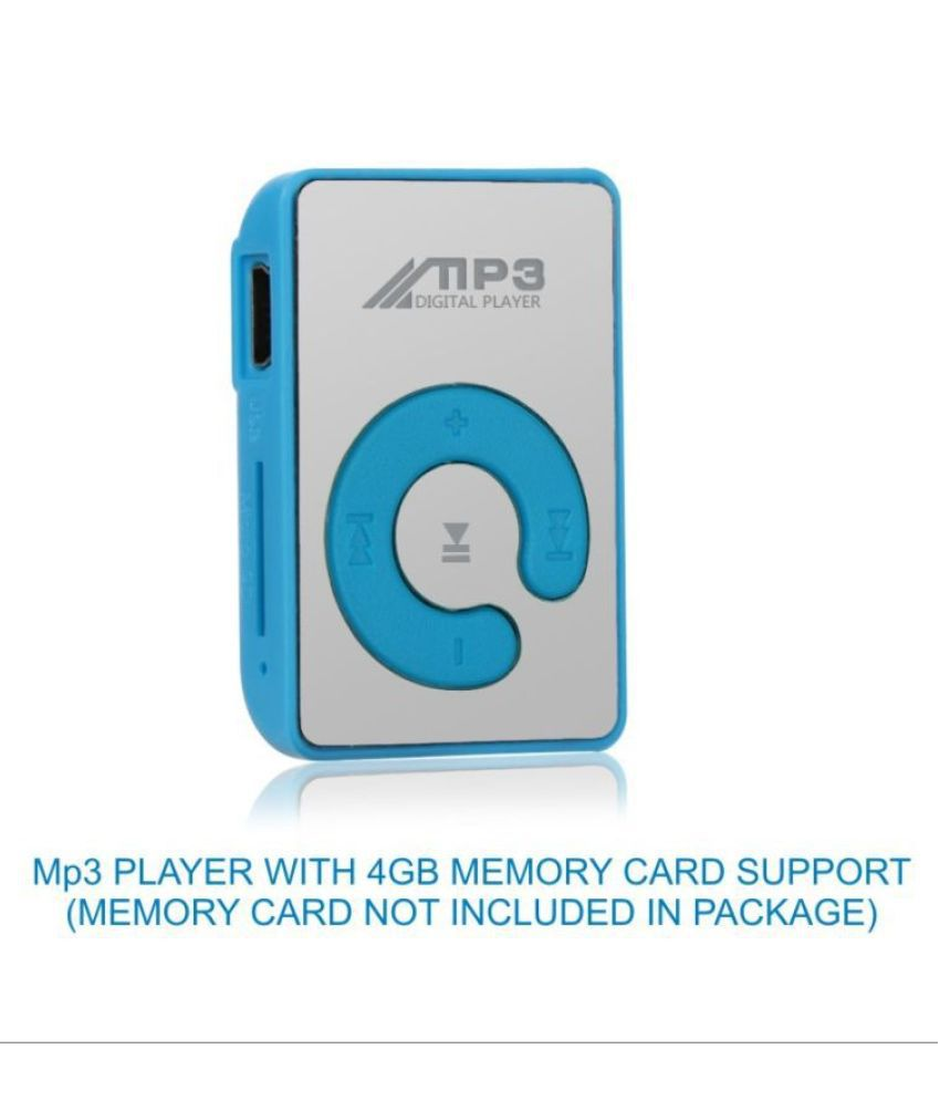 EmmEmm Finest Blue Silver MP3 Players