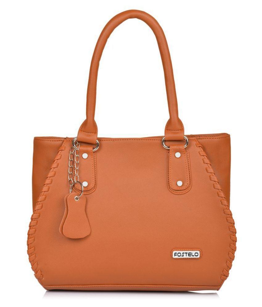 Fostelo Tan P.U. Shoulder Bag