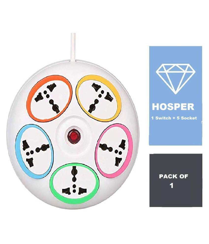 HOSPER 5 Socket Extension Board