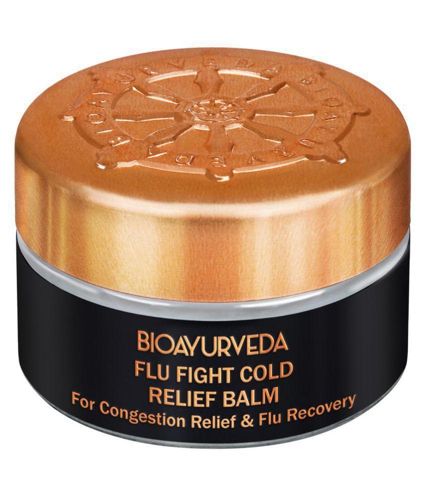BioAyurveda Flu Fight Cold Relief Balm 20 Gm Balm