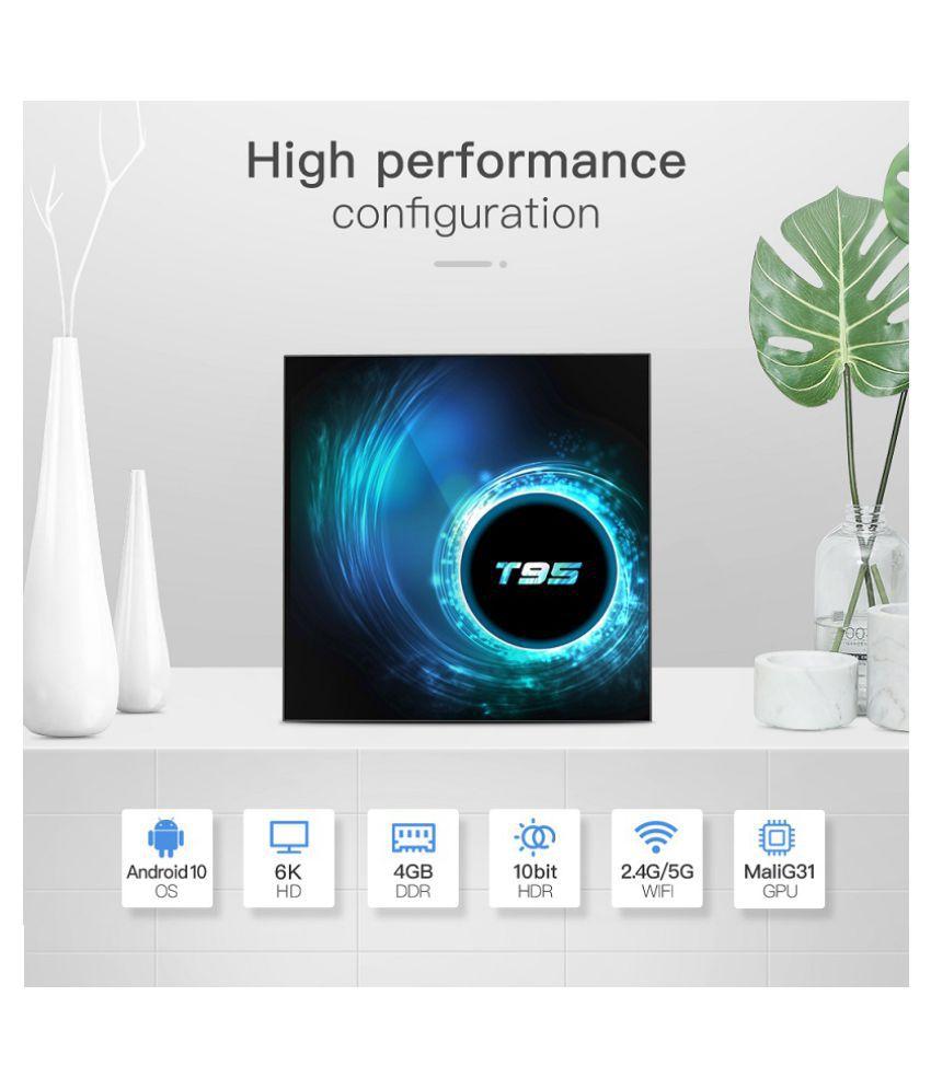T95 2GB 16GB Smart H616 Streaming Media Player