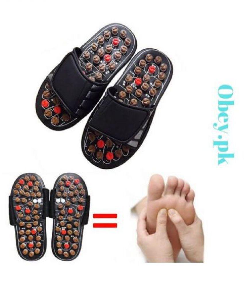Gabbar Paduka Yoga Slipper Foot Massager Acupressure - Size 8