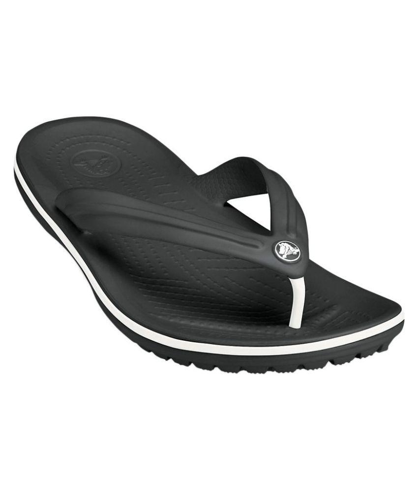Crocs Black Slippers Price in India
