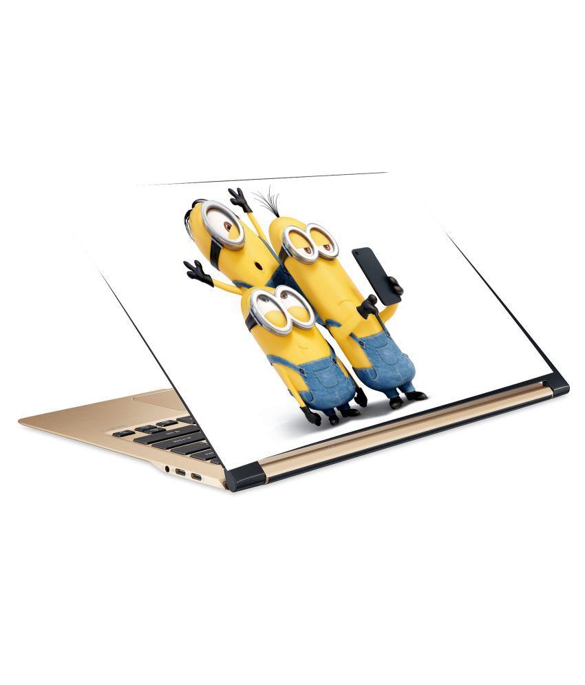 Minions4 Laptop Skin 15.6 Vinyl Vinyl Laptop Decal 15.6