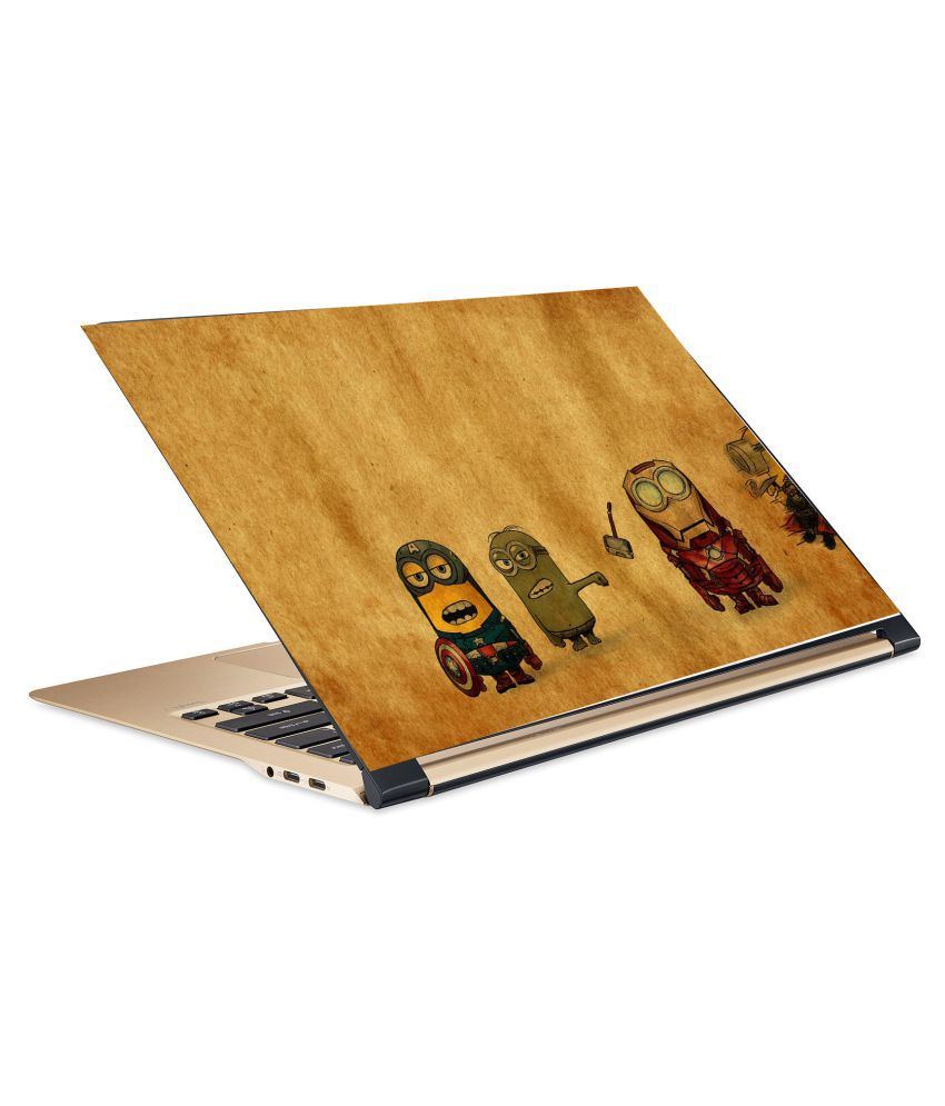 Minions8 Laptop Skin 15.6 Vinyl Vinyl Laptop Decal 15.6