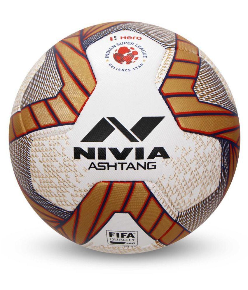 Nivia Ashtang Multi-Color Football Size- 5