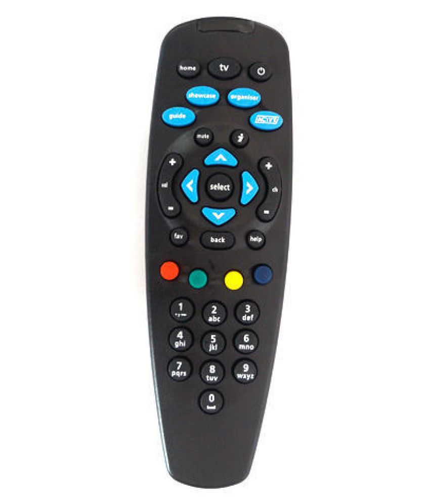 J K EmmEmm DTH Remote Compatible with TATA SKY HD PLUS