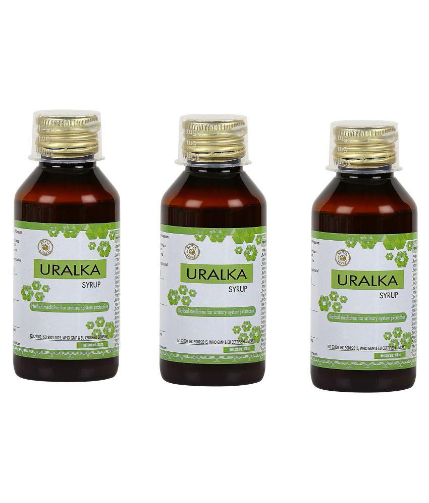 HerbRoot Uralka Syrup Liquid 100 ml Pack of 3