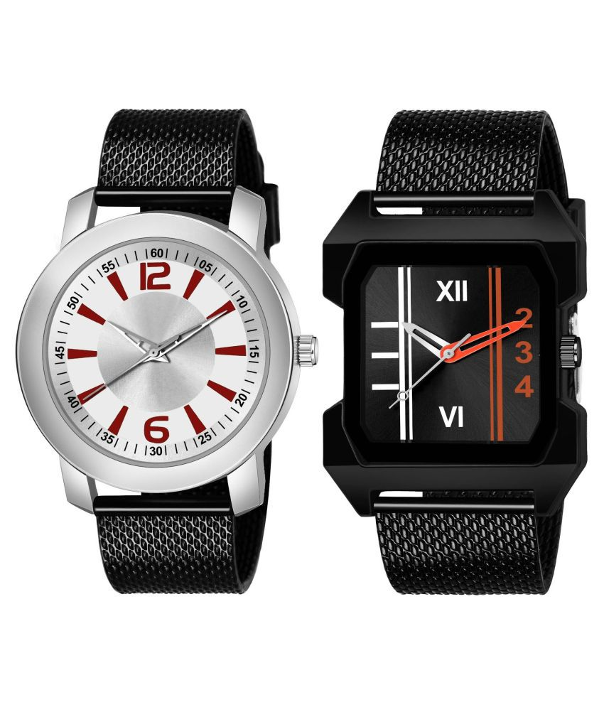 K_507_479 ANALOG QUARTZ PACK OF 2 WATCH FOR MEN AND BOYS