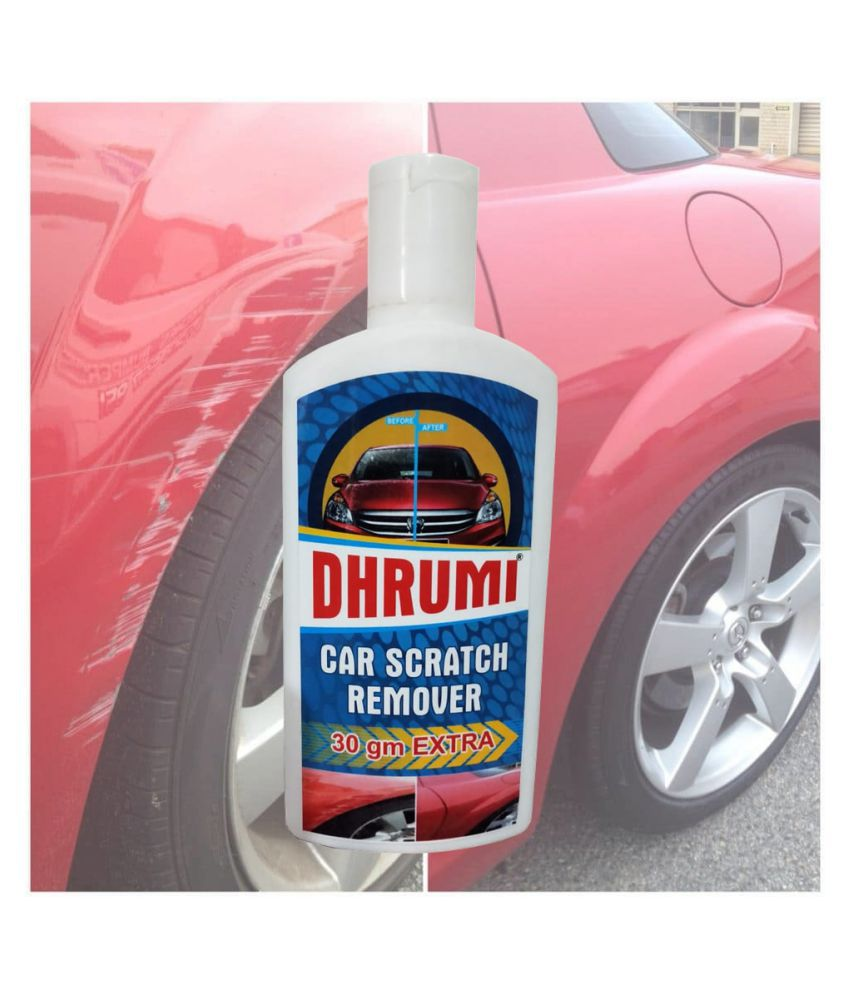 DHRUMI brand Car & Bike Scratch Remover, use All Colours (Not for Dent & Deep Scratches)- 100gms+30gm Extra.