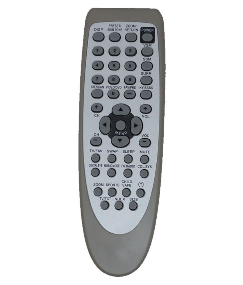 Upix 115 TV Remote Compatible with Onida TV