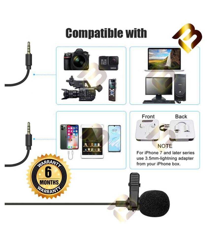 BM. COLLAR MIC Upgraded Version 4.0 Lapel Microphone