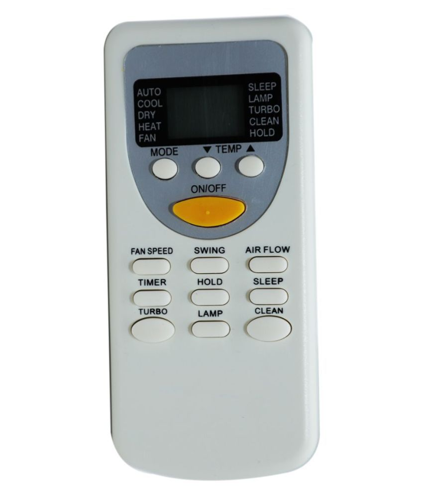 Upix 49 AC Remote Compatible with Nitoshi AC