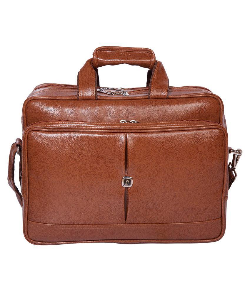 Dicky Tan P.U. Office Bag