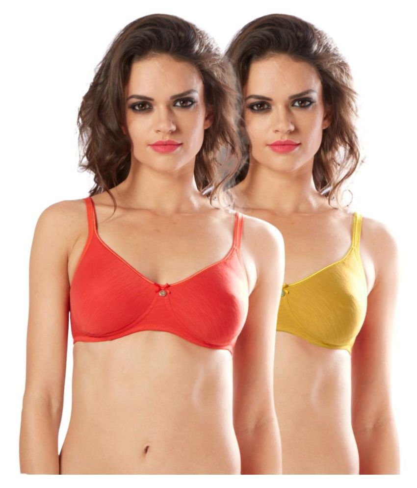 Sonari Cotton T-Shirt Bra - Multi Color