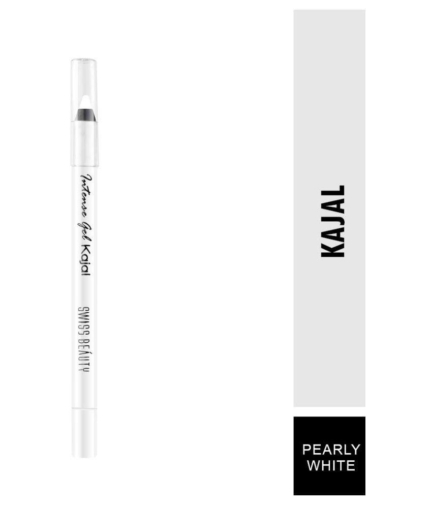 Swiss Beauty Intense Gel Kajal Pencil White 1 g