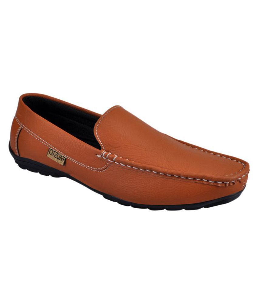 Fausto Brown Loafers