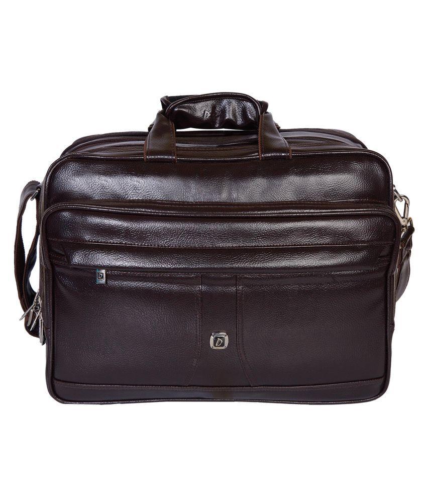 Dicky Brown P.U. Office Bag