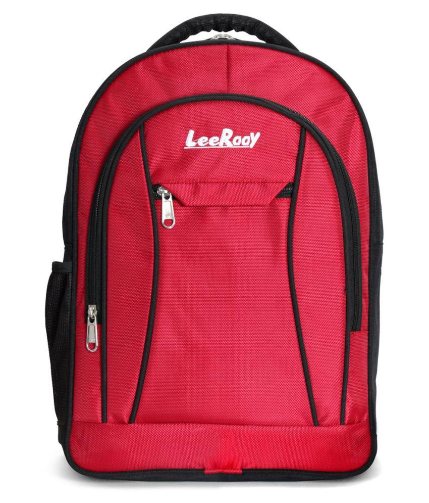 LeeRooy Red Backpack
