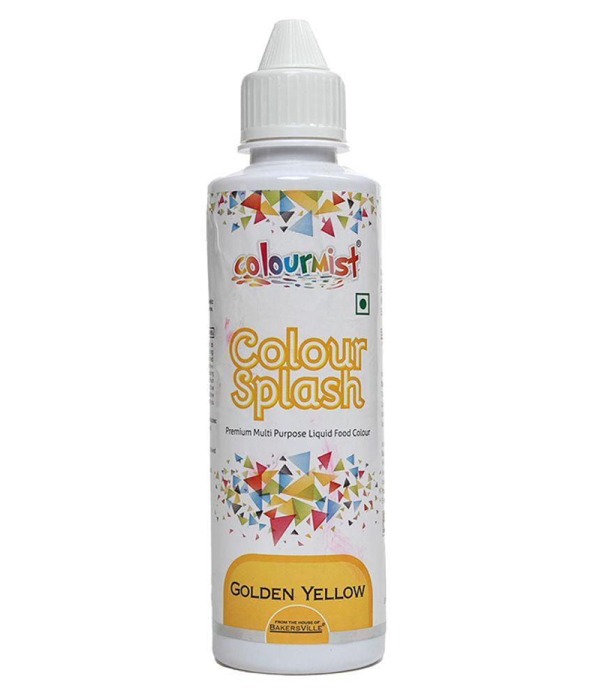 Colourmist Colour Splash (Golden Yellow), 200 g