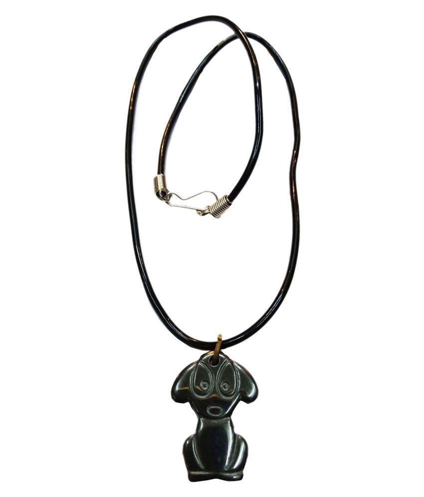 Vinayak Lucky Cat pendant (Gunmetal)