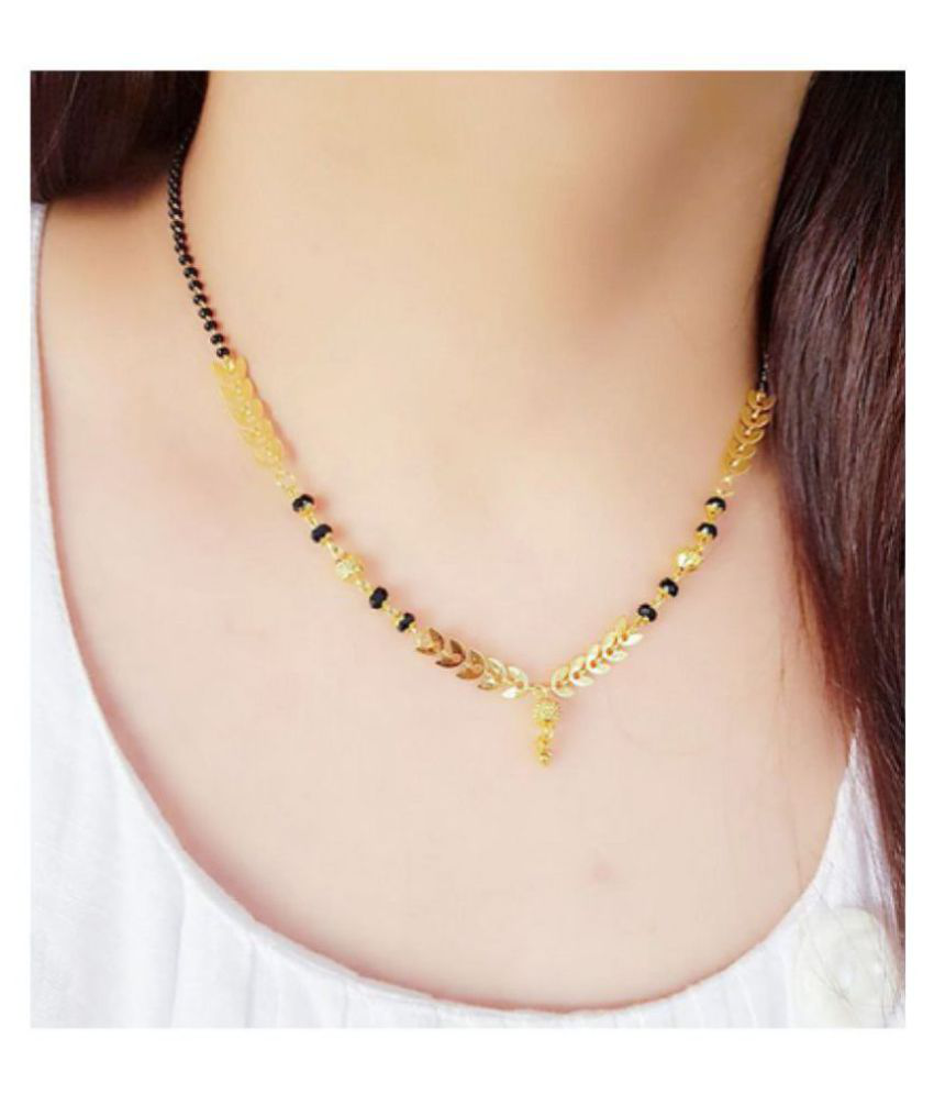 vinod handicrafts Women's pride Traditional Gold Plated Mangalsutra For Women
