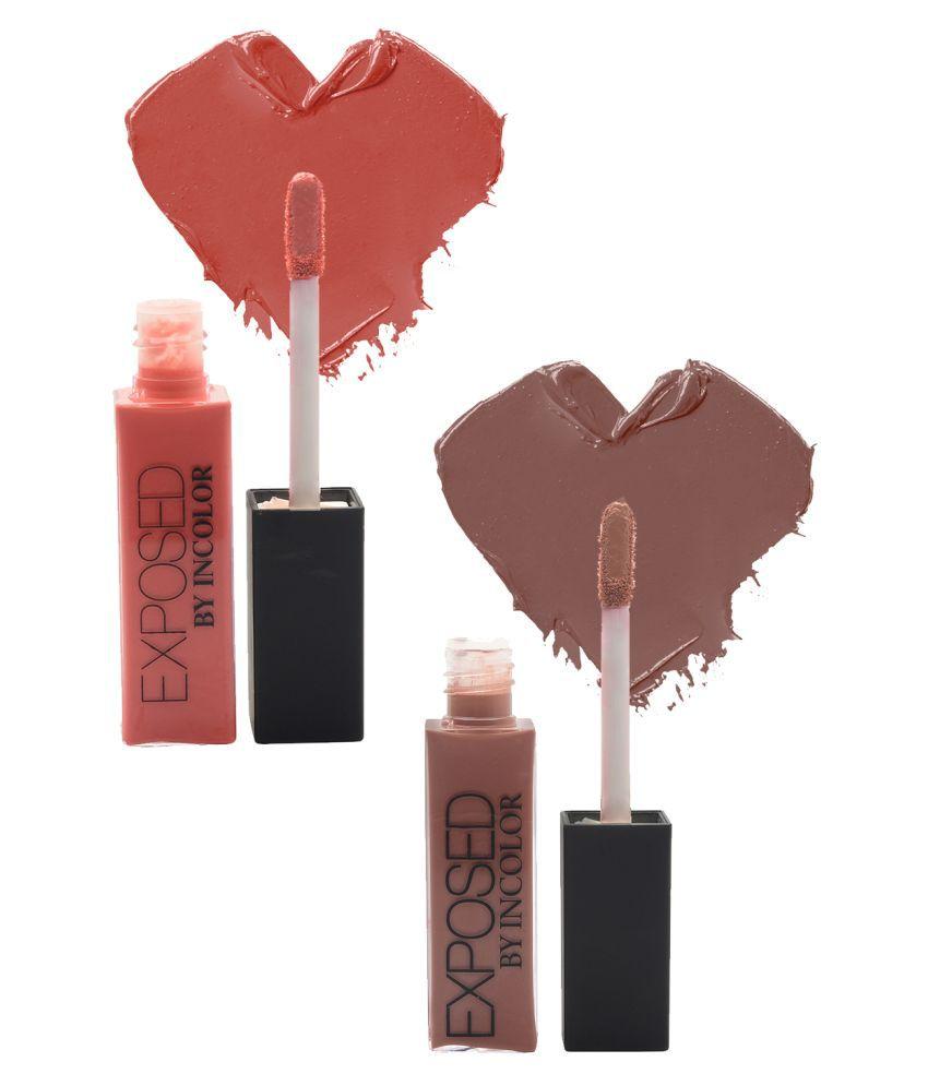 Incolor Lip Gloss Stick 7+21 Multi Pack of 2 6 mL