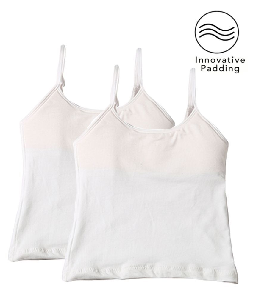 Adira Pack Of 2 Starter Camisole - Padded