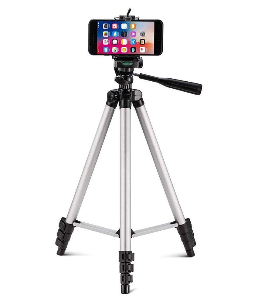 Bonito 3110 Tripod Stand Holder for Mobile Phones  amp; Camera 345 mm  1020 mm Quick Leverlock + Mobile Holder Bracket