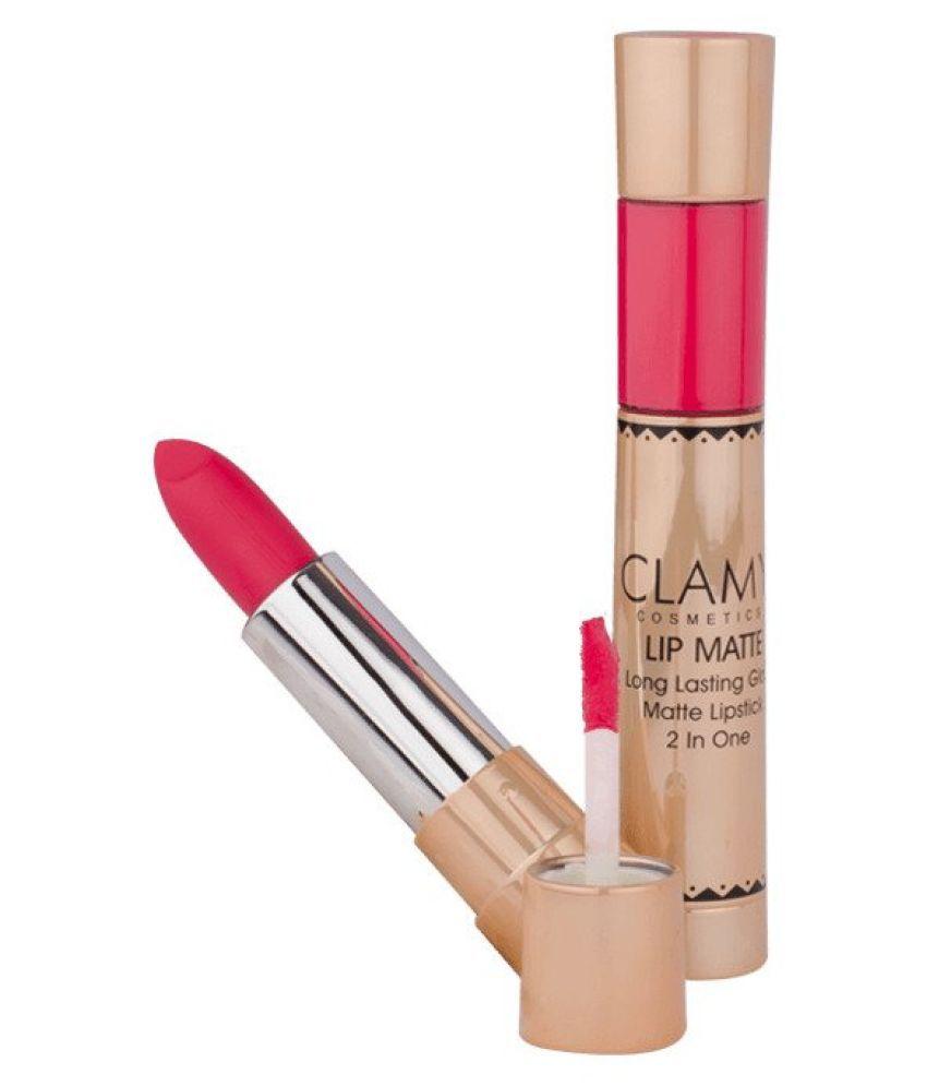 clamy cosmetics Liquid Lipstick Pink 10 g