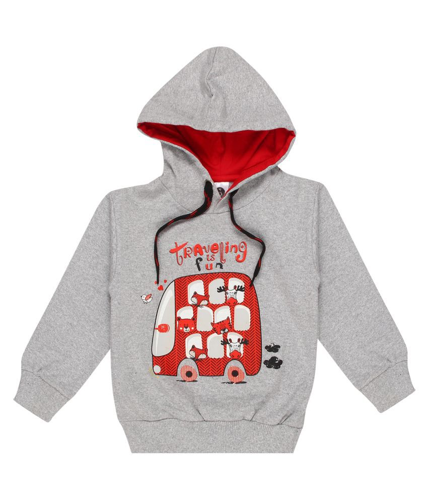 Kids Magic Boys Girls Cotton Hooded Sweatshirt