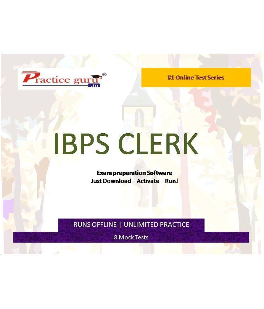Practice Guru (IBPS PO) 8 Online Mock Tests License/Redemption Code - Online