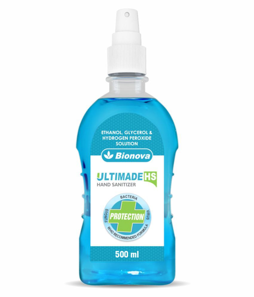 Bionova Hand Sanitizer 500 mL Pack of 2