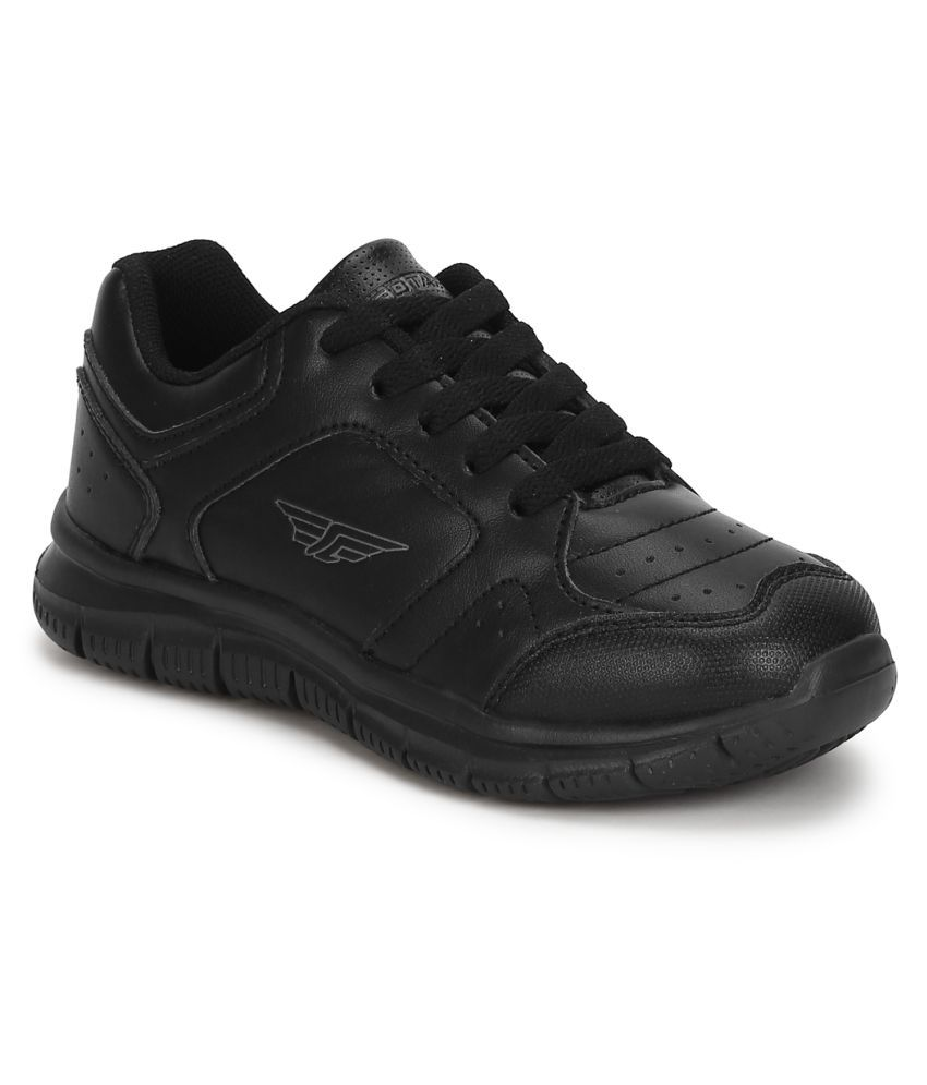 Red Tape Kids Black School Shoes