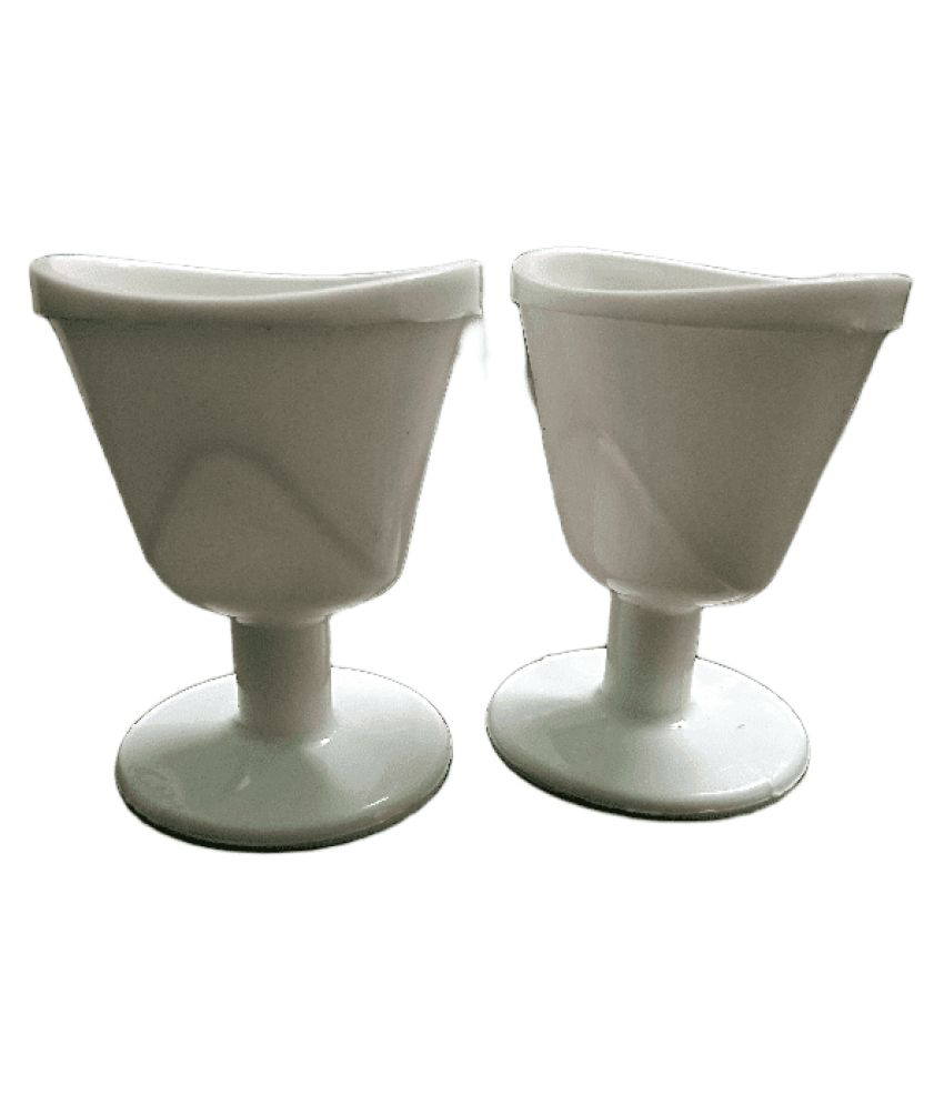 Eye Wash Cup Pack of 2 (White)