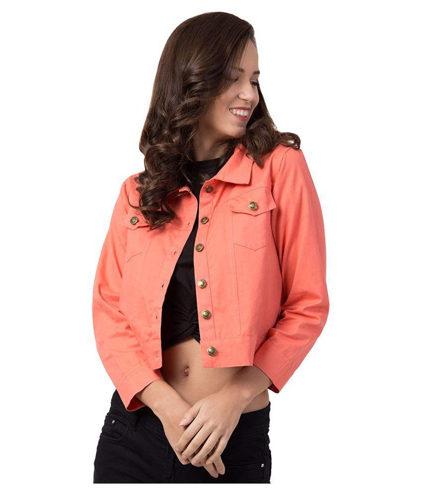 retrobella Denim Peach Jackets