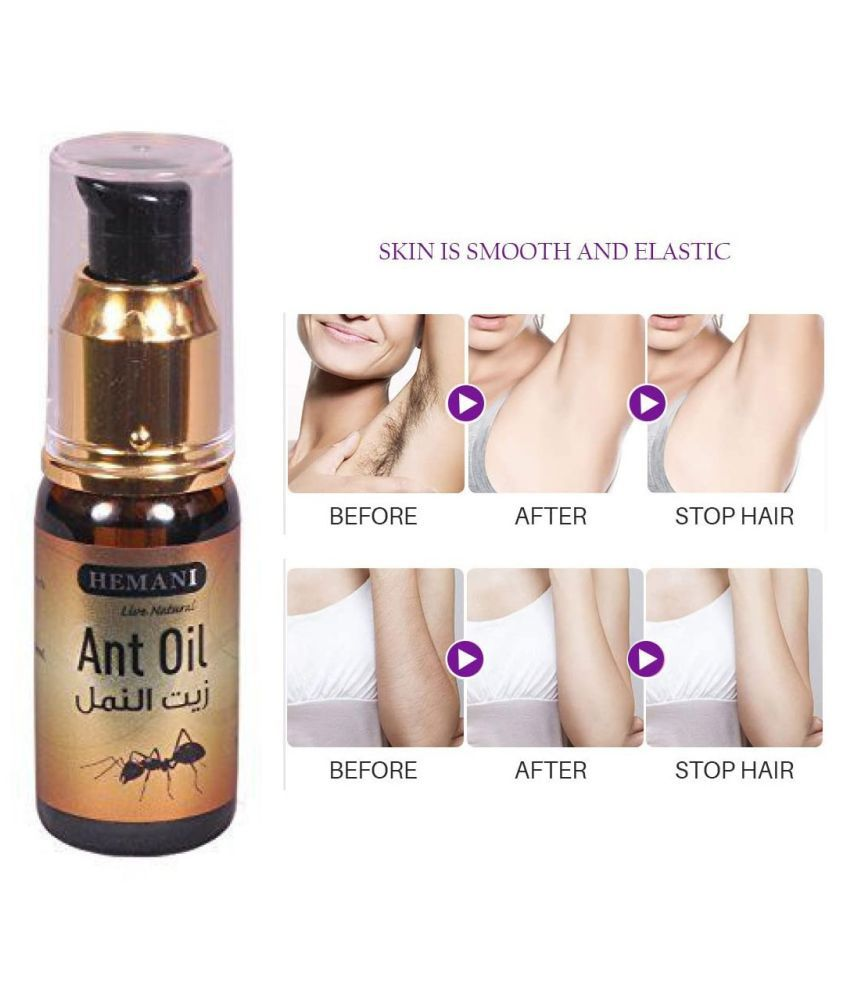 Hemani Live Natural Hair Removal Oil Under Arm 30 mL