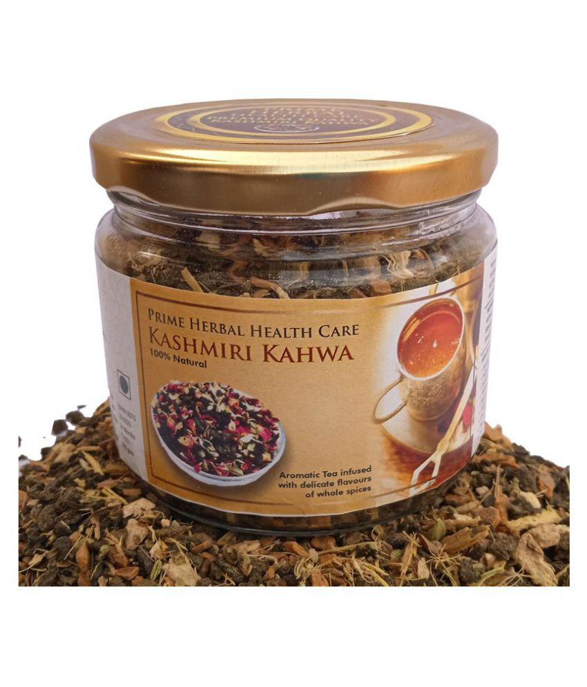 Prime Herbal Health Care Masala Chai Tea Loose Leaf Kashmiri Kahwa 100 gm