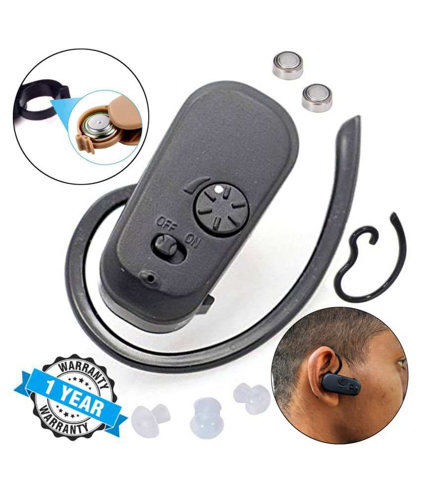 QGS Digital Mini Superior Sound Voice Enhancement Amplifier Device Hearing Aid Sound Booster Wireless Hearing Aid