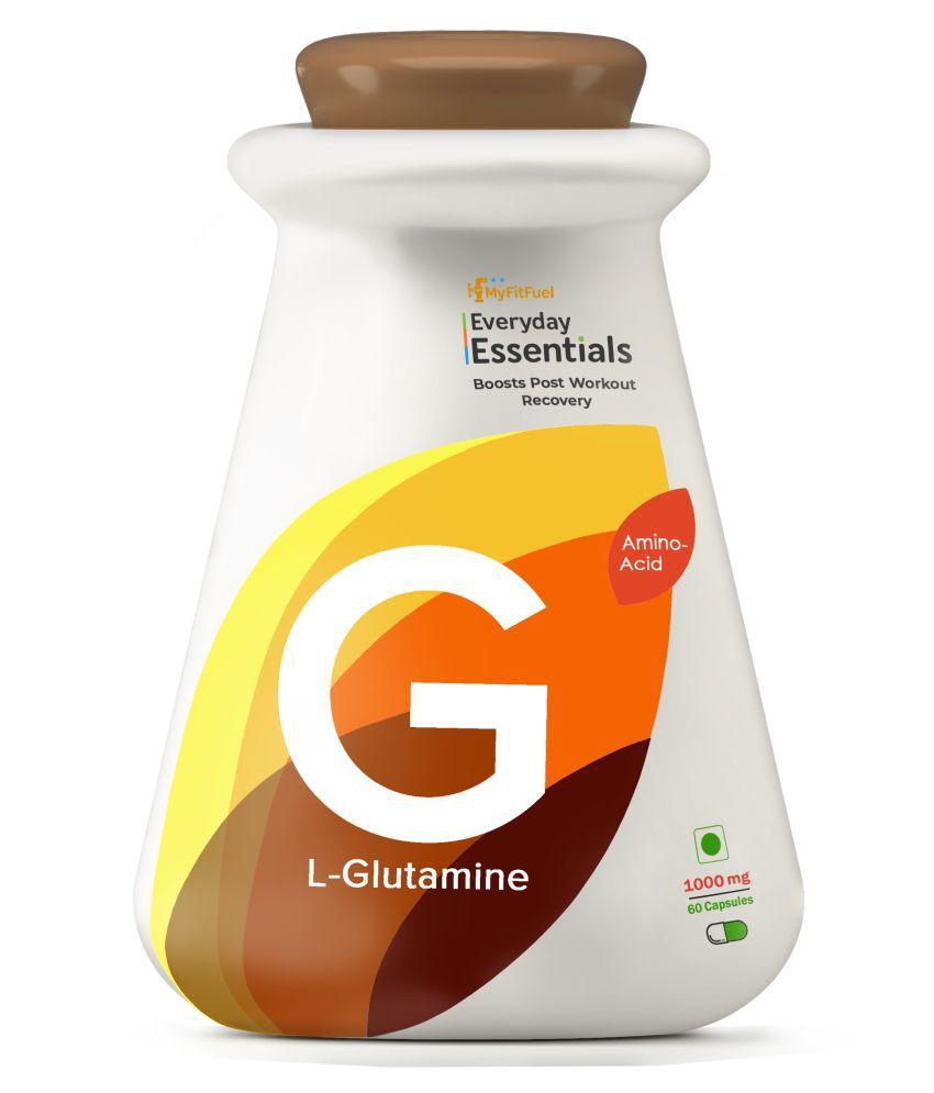 MyFitFuel L-Glutamine (60 Capsules) 60 no.s