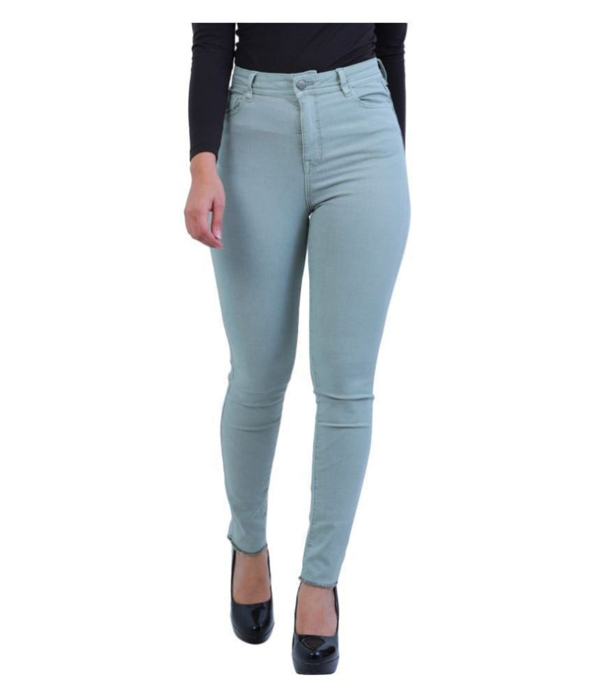 Malachi Denim Lycra Jeans - Green