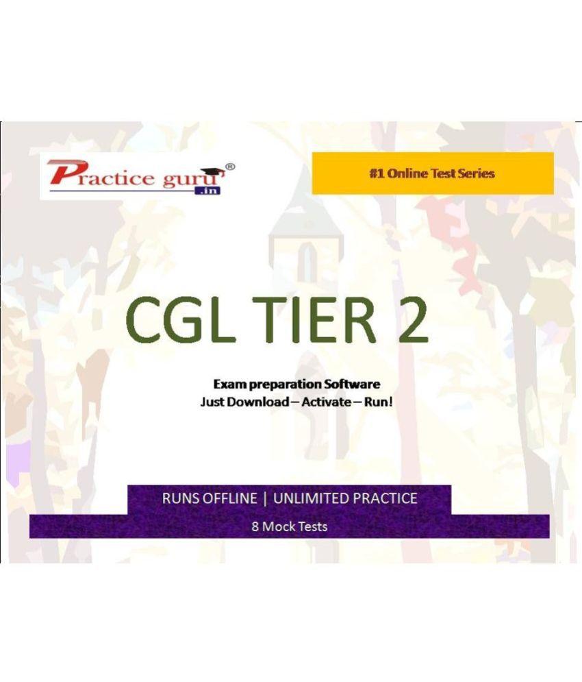 Practice Guru (CGL TIER 2) 8 Online Mock Tests License/Redemption Code - Online