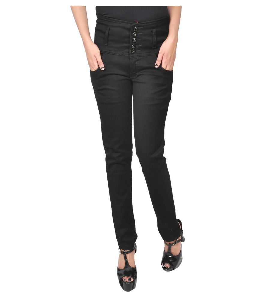 Ratawood Denim Lycra Jeans - Black