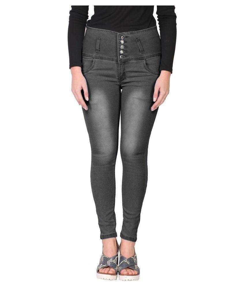 Ratawood Denim Lycra Jeans - Grey