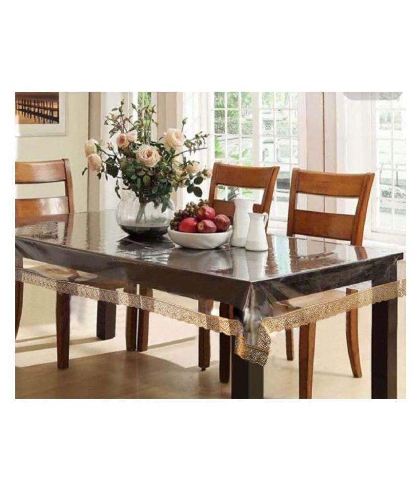 Fabfurn 6 Seater PVC Single Table Covers