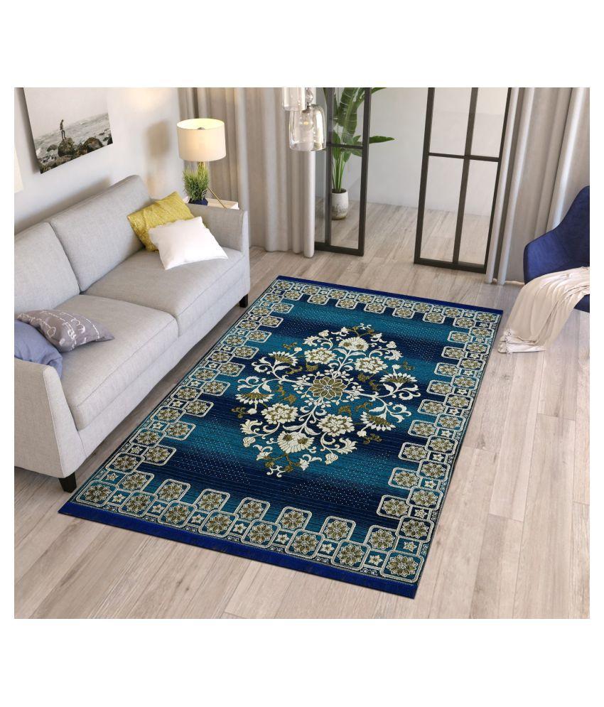 Temoli Assorted Velvet Carpet Abstract 5x7 Ft